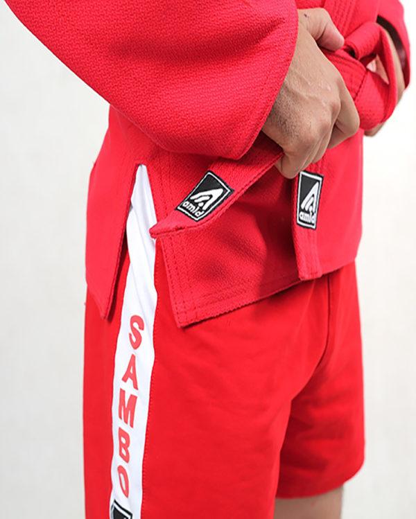 красные шорты самбо