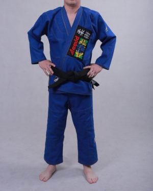 синее кимоно для бжж