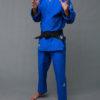 картинка кимоно дзюдо синее
