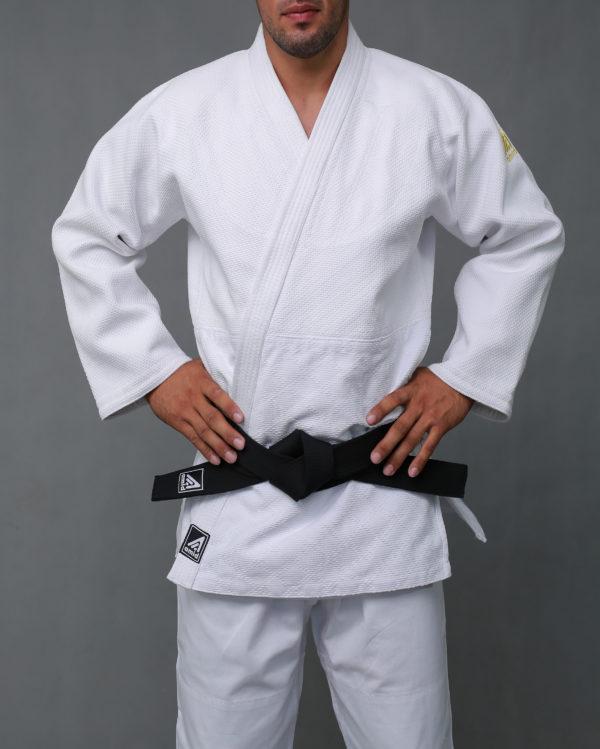 кимоно дзюдо белый