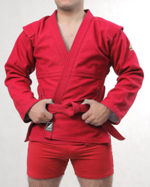 красная куртка для самбо стандарт